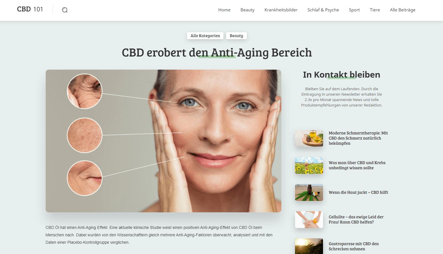 Antioxidantien, Anti-Aging, Behandlung, Lebensmittel, Alterungsprozess verlangsamen,